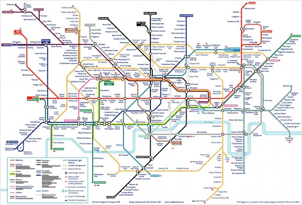 London Tube Map 502910948A8A4 Random 2 Underground Printable In - London Tube Map Printable