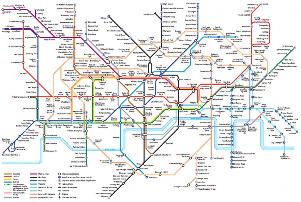 London Underground | London Moments | London Tube Map, Underground - Printable London Tube Map 2010