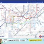 London Underground Releases A New Tube Map – Ianvisits - Printable London Tube Map Pdf