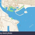 Long Beach California Printable Map Excerpt. This Vector Streetmap - Printable Map Of Long Beach Ca
