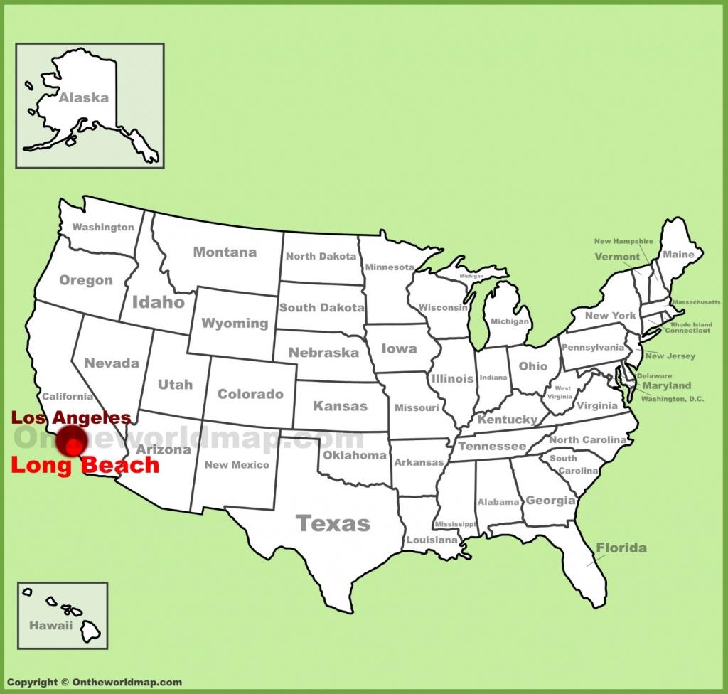 Long Beach Maps   California, U.s.   Maps Of Long Beach - Long Beach California Map