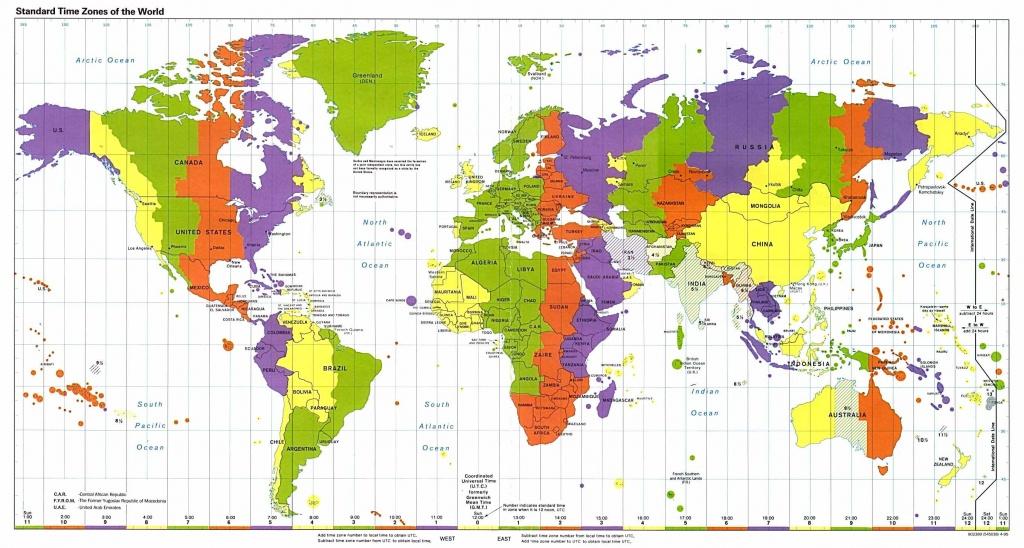 Longitude Latitude World Map And Travel Information | Download Free - World Map Latitude Longitude Printable