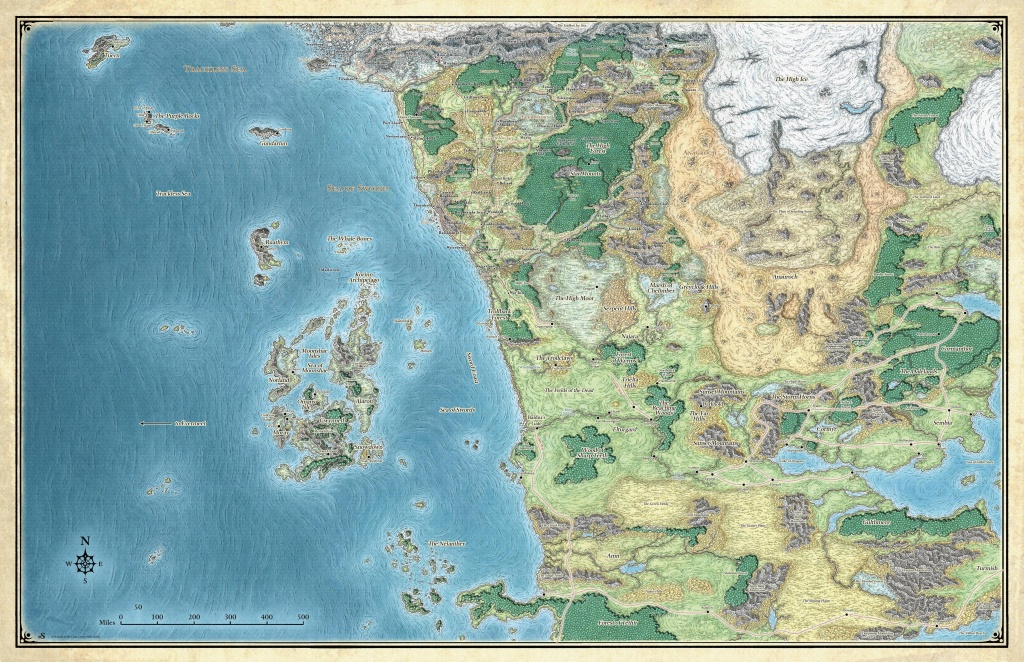 Looking For Player Maps For Storm King's Thunder : Dndnext - Storm King's Thunder Printable Maps