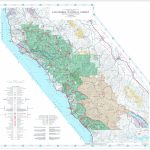 Los Padres National Forest Visitor Map (North)   Us Forest Service   California National Forest Map