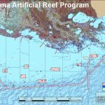 Louisiana Artificial Reef Program | Louisiana Department Of Wildlife   Texas Oil Rig Fishing Map