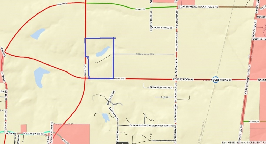 Louisiana Dr, Celina, Tx, 75009 - Residential Property For Sale On - Celina Texas Map