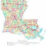 Louisiana Printable Map - Printable Map Of Louisiana