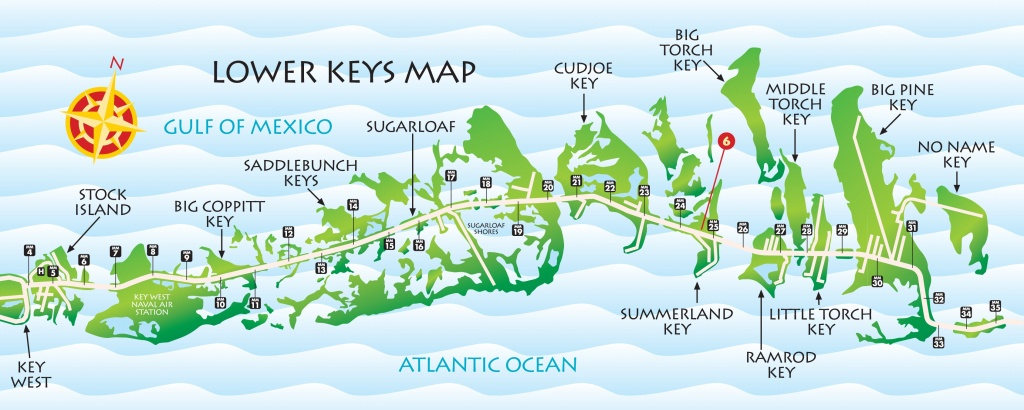 Lower Keys Map | Key West / Florida Keys Money Saving Discount Coupons - Map Of Lower Florida