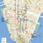 Lower Manhattan Map   Go! Nyc Tourism Guide   Printable Map Of Manhattan Pdf
