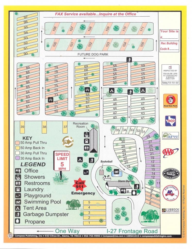 Lubbock Rv Park Inc. | Photo Gallery - Texas Rv Parks Map