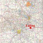 Luling, Texas - Luling Texas Map