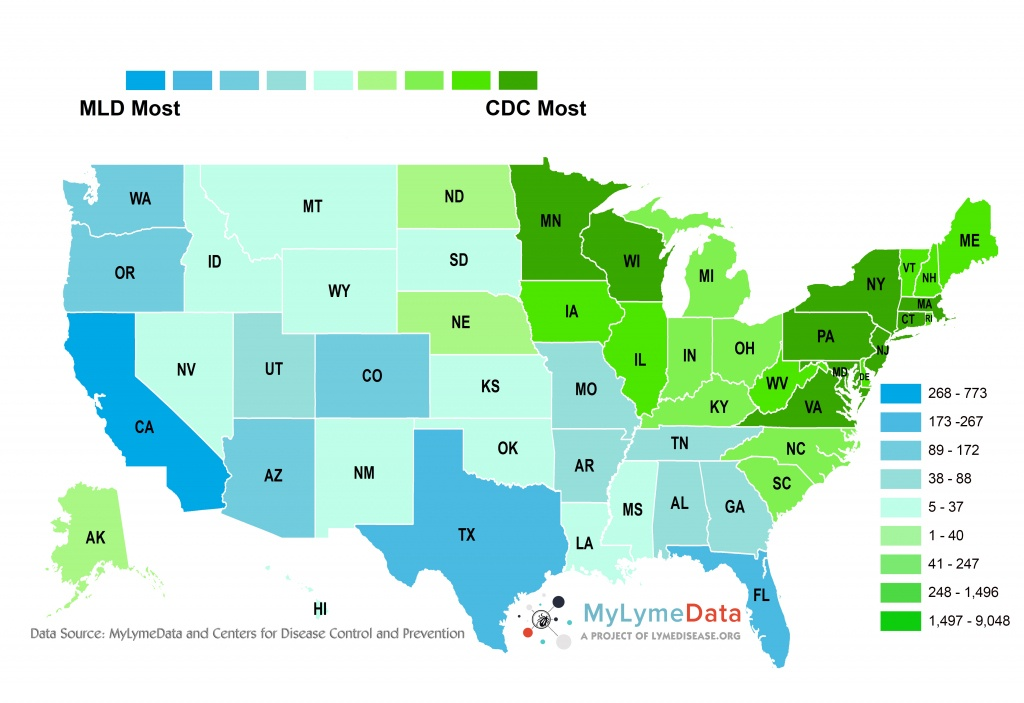 Lyme Disease Florida Map   Autobedrijfmaatje - Lyme Disease In Florida Map