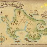 Lyndsay Johnson: Neverland Map Downloadable Print   Neverland Map Printable
