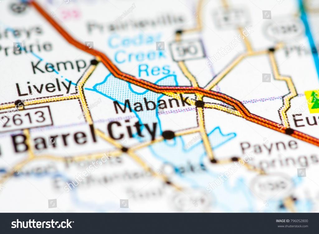 Mabank Texas Usa On Map Stock Photo (Edit Now) 796052800 - Mabank Texas Map