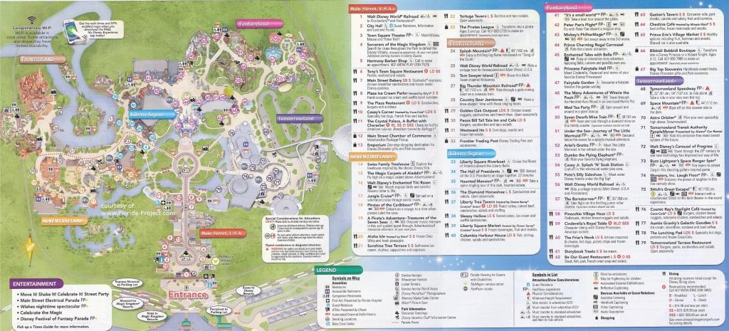 Magic Kingdom Guidemaps - Magic Kingdom Orlando Florida Map