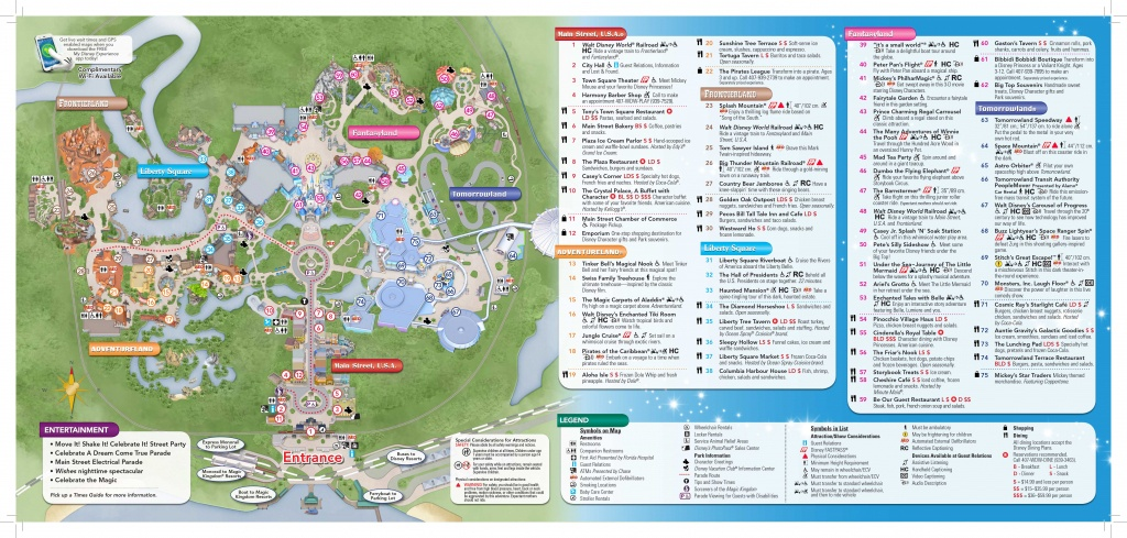 Magic-Kingdom-Map-2   Dis Blog - Map Of Magic Kingdom Orlando Florida