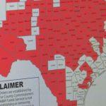 Majority Of Deep East Texas Not Under Burn Ban  Yet - Texas Burn Ban Map