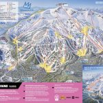 Mammoth Mountain Ski Area Trail Map | Onthesnow - Mammoth Mountain Map California
