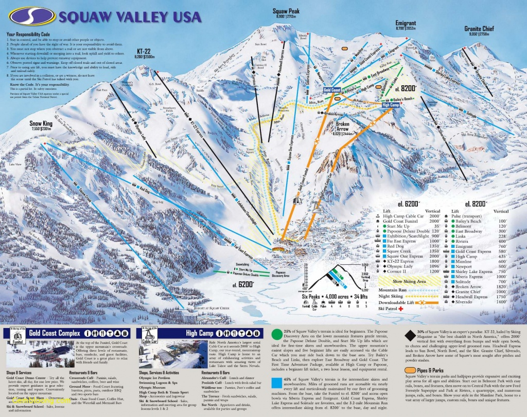 Mammoth Ski Resort Map Take A Look At This Mammoth Mountain Trail - Mammoth Mountain Map California