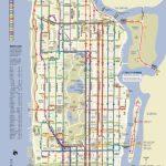 Manhattan Bus | מידע כללי | Bus Map, Map Of New York, Manhattan Map   Printable Manhattan Bus Map