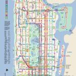 Manhattan Bus Map | New York Metropolitan Area | Bus Map, Map, New   Printable Manhattan Bus Map