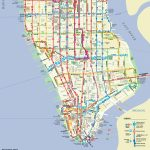 Manhattan On A Map And Travel Information | Download Free Manhattan   Printable Manhattan Bus Map