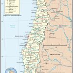 Map Chile, Country Map Chile   Printable Map Of Chile