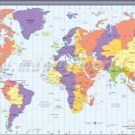 Map In Large Print Of The World Inpinks | Free Printable World Time   Large Printable World Map