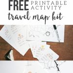 Map My Trip For Kids | Charting Travel With A Free Map Template   Road Trip Map Printable