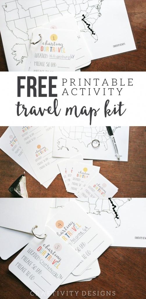 Map My Trip For Kids   Free Printables And Templates   My Travel Map - Free Printable Road Maps For Kids