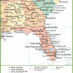 Map Of Alabama, Georgia And Florida   Map Of Alabama And Florida Beaches
