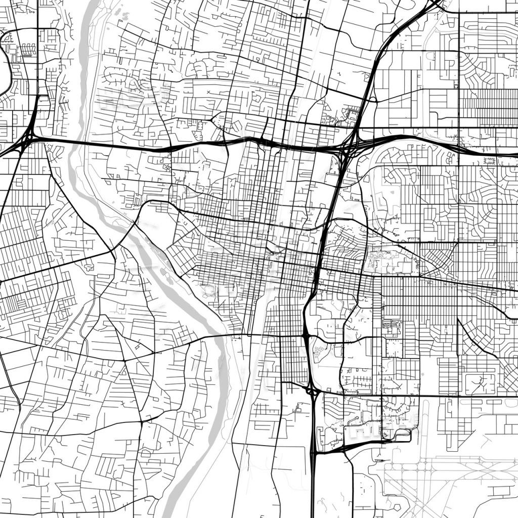 Map Of Albuquerque, New Mexico | Hebstreits Sketches - Printable Map Of Albuquerque