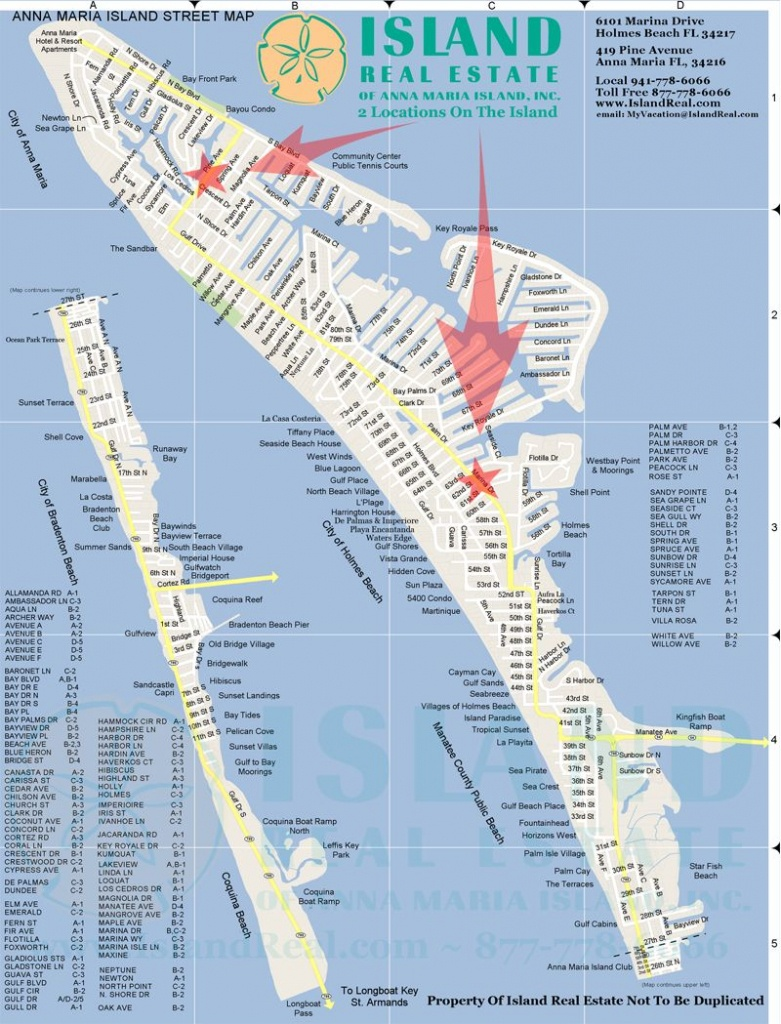 Map Of Anna Maria Island - Zoom In And Out. | Anna Maria Island In - Map Of Florida Gulf Coast Islands