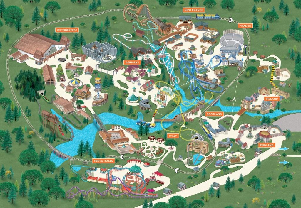 Map Of Busch Gardens Tampa | Vueaz - Busch Gardens Florida Map