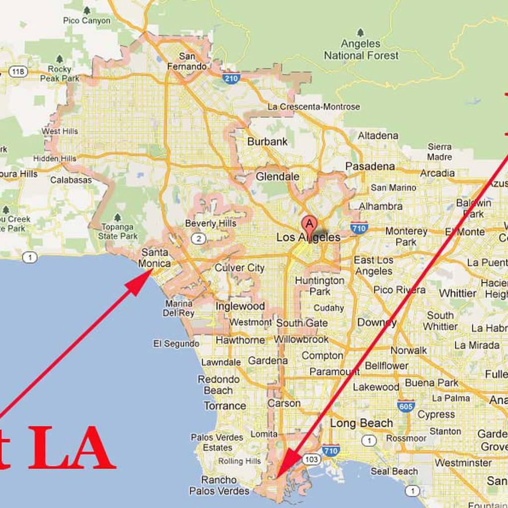 Map Of Calabasas La S Confusing Borders Now In Google Maps Curbed La - Google Maps Calabasas California