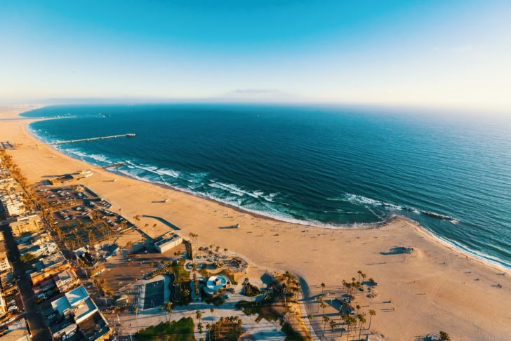 Southern California Beach Towns Map
