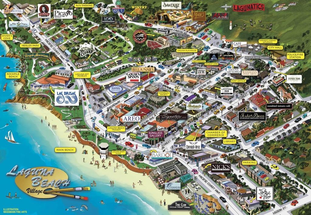 Map Of California Coast Laguna Beach – Map Of Usa District - Laguna Beach California Map