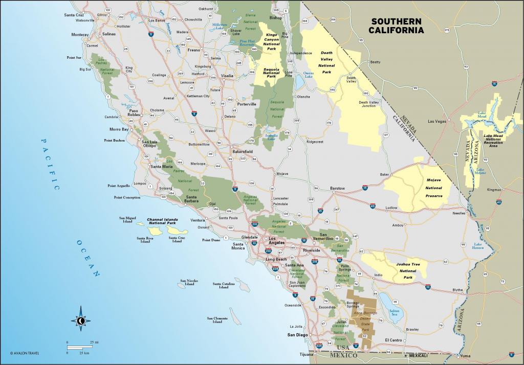 Map Of California Coastline Cities – Map Of Usa District - Map Of California Coastline