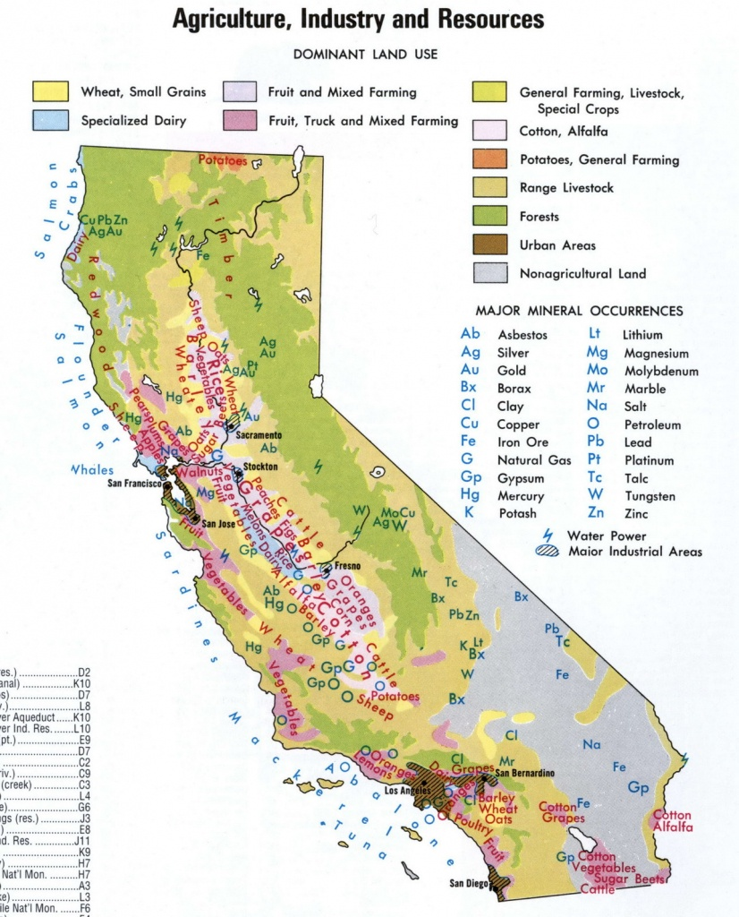 Map Of California National Parks And Monuments And Travel - Northern California National Parks Map