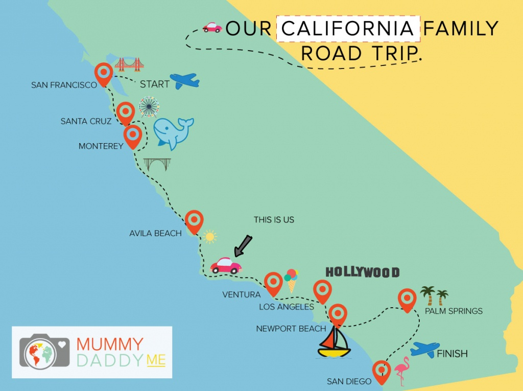 Map Of California Showing Palm Springs And Travel Information - Map Of California Showing Palm Springs