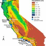 Map Of California Showing The 4 Coastal Hydrologic Regions (Hrs   Map Of California Coast
