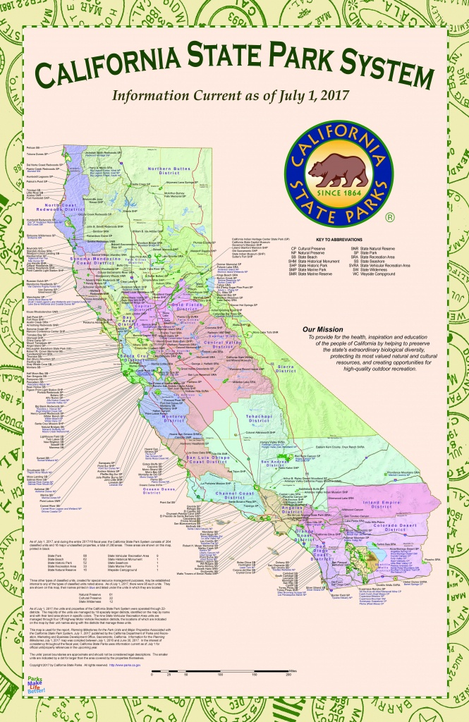 Map Of California State Parks - Touran - California State Parks Camping Map