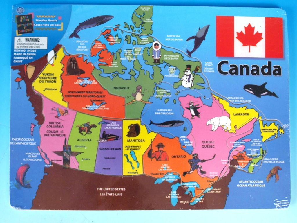 Map Of Canada Puzzle Printable Map Of Canada Puzzle Play   Travel - Canada Map Puzzle Printable
