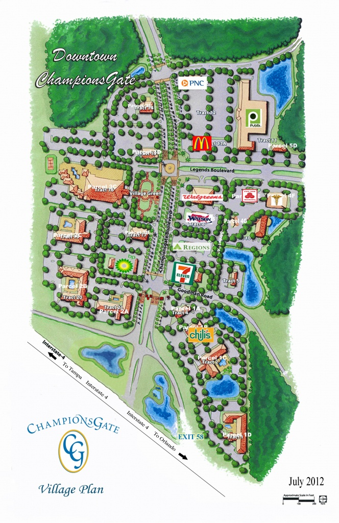 Map Of Champions Gate Orlando | Download Them And Print - Champions Gate Florida Map