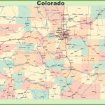 Map Of Colorado With Cities And Towns - Printable Map Of Colorado Cities