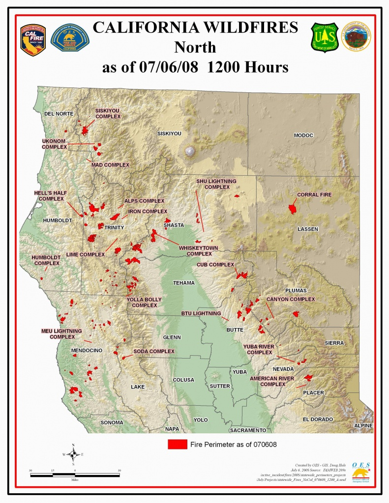 Map Of Current Fires In Northern California   Secretmuseum - Map Of Current Forest Fires In California