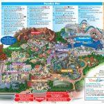 Map Of Disneyland And California Adventure Park Map Of Disney   Disneyland Map 2018 California