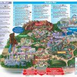 Map Of Disneyland And California Adventure Park | Secretmuseum   Disneyland Map 2018 California