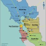 Map Of East Bay Area California | Secretmuseum   La Costa California Map