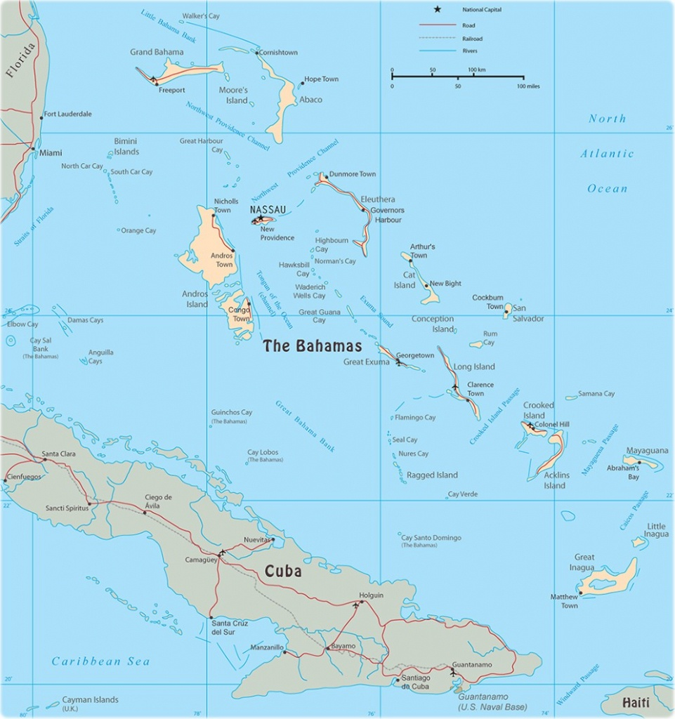 Map Of Florida And Bahamas The | D1Softball - Map Of Florida And Bahamas